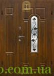 Входные двери со стеклом и ковкой в Украине оптом и в розницу