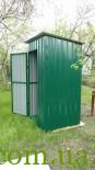 Летний туалет, душ для дачи. «Броневик» Днепр.