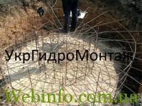 Фундамент для Водонапорной башни Рожновского