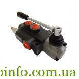 Моноблочный гидрораспределитель (клапан) 1P80 Вadestnost (Болгария)