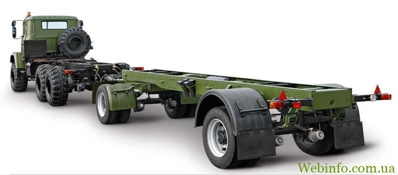КрАЗ А191Н2 для военного и промышленного оборудования