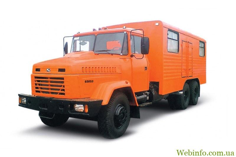 -мастерская КрАЗ 65053