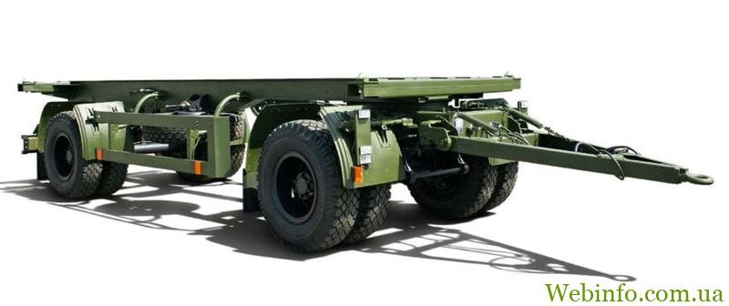 -контейнеровоз КрАЗ А181K2 прицеп