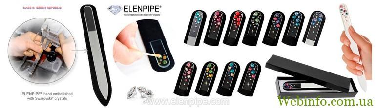 5000.6-5009 pilnik-ELENPIPE-glass-nail-file-Czech-manikur-nagel-gift-box elenpipe (Копировать)