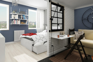 Особенности ремонта однокомнатной квартиры под ключ