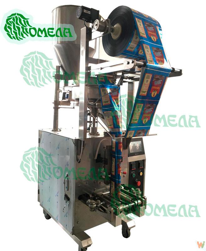 Автомат для упаковки сыпучих продуктов в пакет