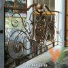 Балкон кованый металлический